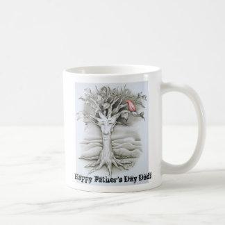 5-15-10 010, Happy Father's Day Dad! Basic White Mug