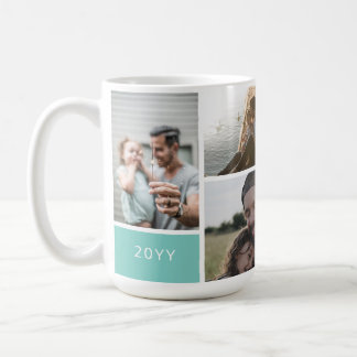 5 Photo Collage Coffee Mug