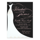 5 x 7 Elegant Dress | Bridal Shower Invite