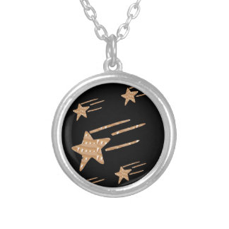5STAR Gold Black Base: LOWEST PRICE GIFTS for ALL Silver Plated Necklace