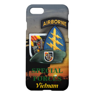 5th Special Forces Group Green Berets SFG SF LRRP iPhone 8/7 Case