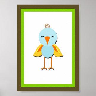 5X7 Bird Jungle Animal Wall Art Poster