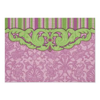5x7 Horizontal Lilac Card 13 Cm X 18 Cm Invitation Card