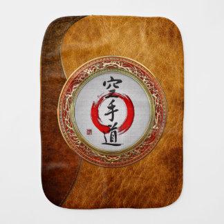 [600] Japanese calligraphy - Karate-do Burp Cloths