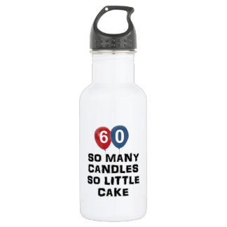 60 year old candle designs 532 ml water bottle