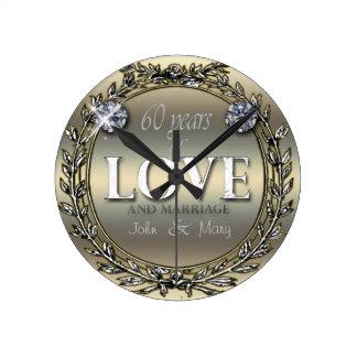 60 Years of Love ID196 Clock