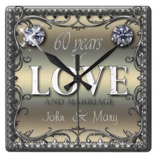 60 Years of Love ID196 Clocks
