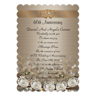 60th Anniversary Party Invitation