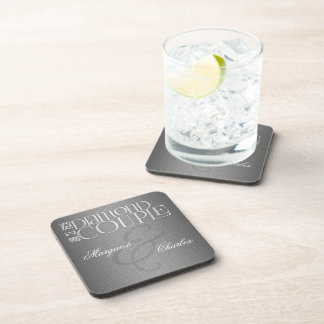 60th Diamond Wedding Anniversary | Custom Coasters