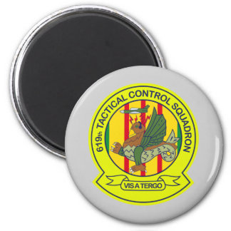 619th Tactical Control Squadron Vietnam Magnet