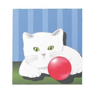 63White Cat_rasterized Notepad