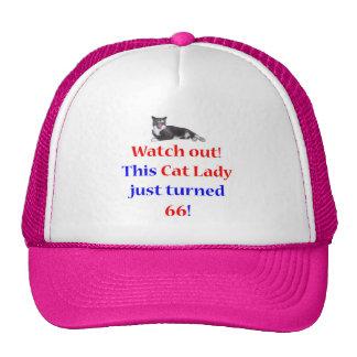 66 Cat Lady Mesh Hats