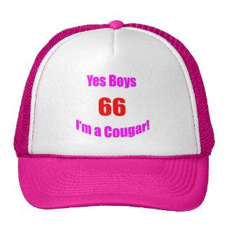 66 Cougar Birthday Trucker Hat