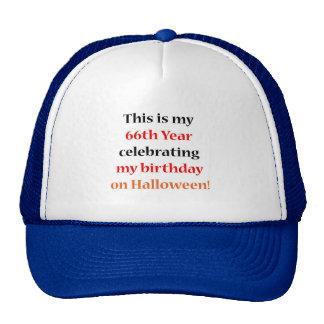 66 Halloween Birthday Mesh Hats