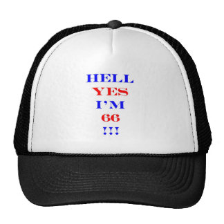 66 Hell yes! Mesh Hat