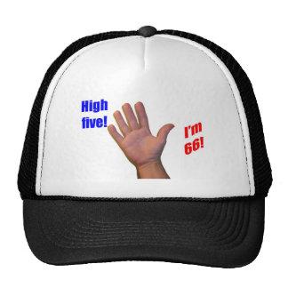 66 High Five Mesh Hats