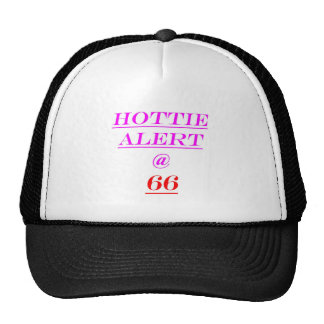 66 Hottie Alert Trucker Hat