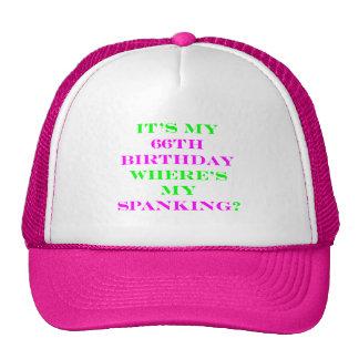 66 Where's my spanking? Hats