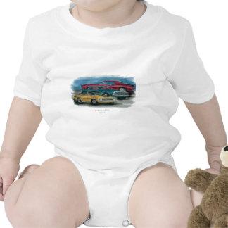 67, 68, 69 Camaro Infant Short Sleeve Baby Creeper