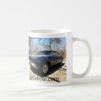 68 Charger Basic White Mug