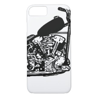 68 Knuckle Head Motorcycle iPhone 8/7 Case