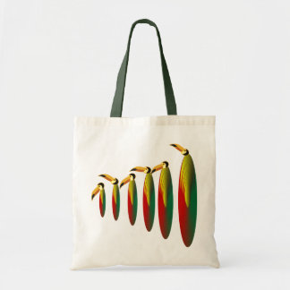 6 exotic toucan tote bag