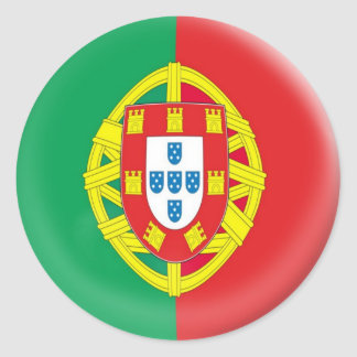 6 large stickers Portugal Portuguese flag