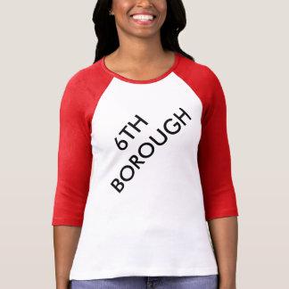 6th Borough Hoboken Ragalan Tshirt