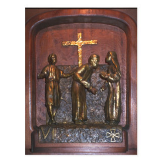 6th Station of the Cross Postcard