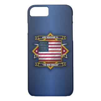 6th Wisconsin Volunteer Infantry iPhone 8/7 Case