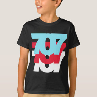 707 Area Code T-Shirt