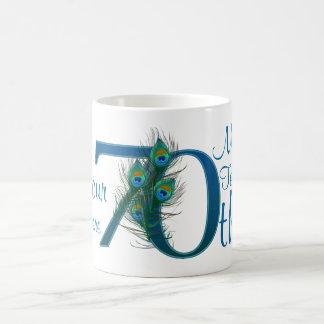 # 70 - 70th Wedding Anniversary or 70th Birthday Coffee Mug