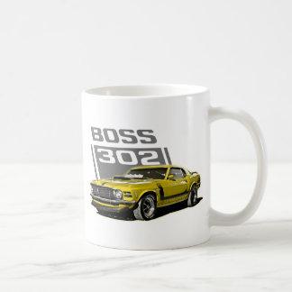 70 Boss 302 Yellow Coffee Mug
