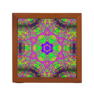 70's psychedelic groovy desk organiser