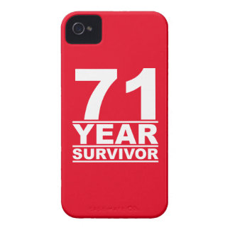71 year survivor iPhone 4 Case-Mate case