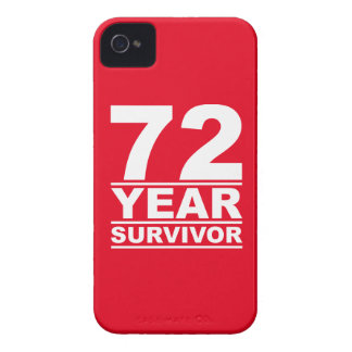 72 year survivor iPhone 4 cases