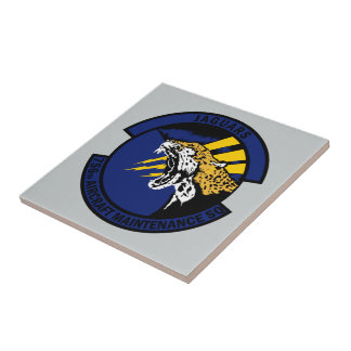 756th Aircraft Maintenance Squadron - Jaguars Tile