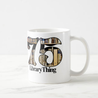 75ers Library Thing mug - No Text