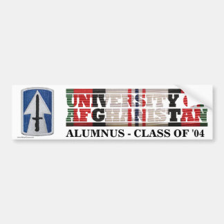 76th Infantry BCT U of Afghanistan Sticker Bumper Sticker