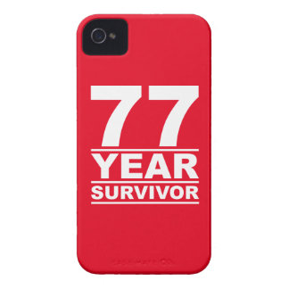 77 year survivor Case-Mate iPhone 4 case