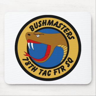 78th Tactical Fighter Squadron - Bushmasters Mouse Pad