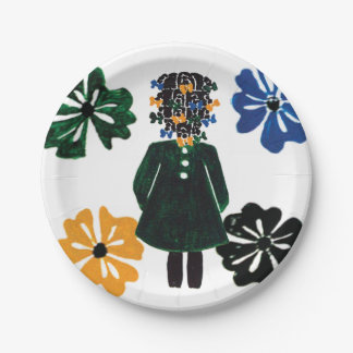 "7"" paper plates by Rose Hill 7 Inch Paper Plate"