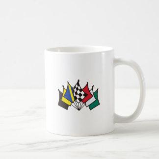 7 Racing Flags Basic White Mug