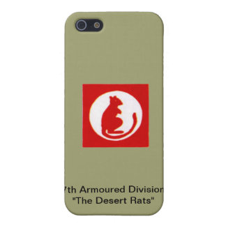 "7th Armoured Division""The Desert Rats"" iPhone 5/5S Covers"