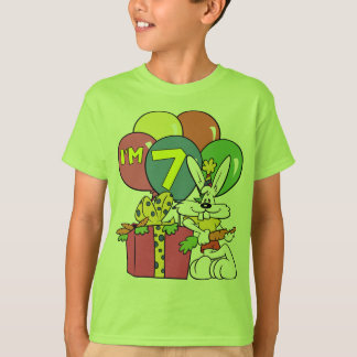 7th Birthday Rabbit T-Shirt