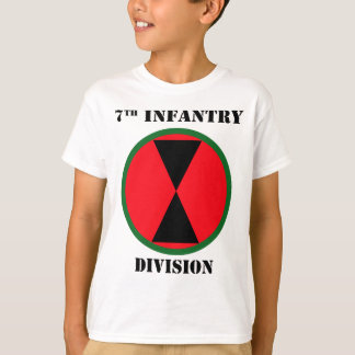 7th Infantry Division W/Text T-Shirt
