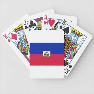 800px-Flag_of_Haiti_svg Bicycle Playing Cards