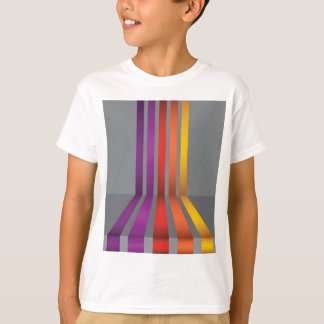 80Colorful Lines_rasterized T-Shirt