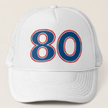 80th Birthday Party Trucker Hatbrdiv Classdesc