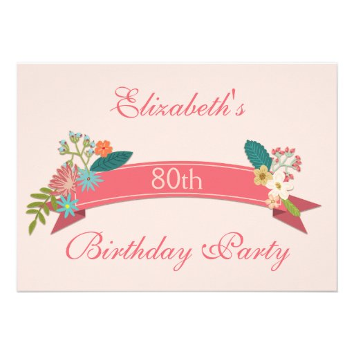 100Th Birthday Party Invitations for great invitations template